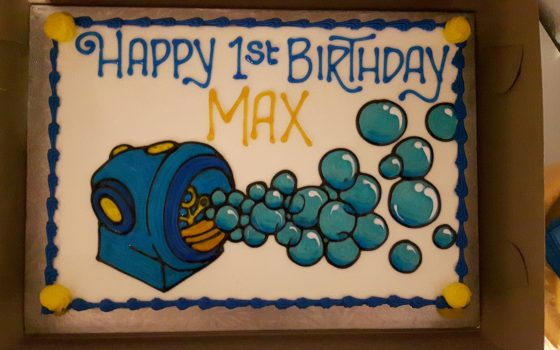 Happy First Birthday Max!