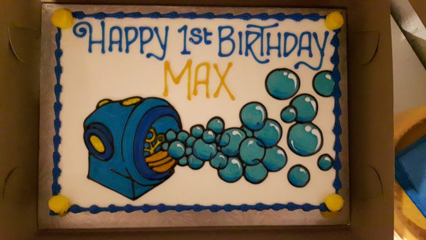 Happy First Birthday Max!